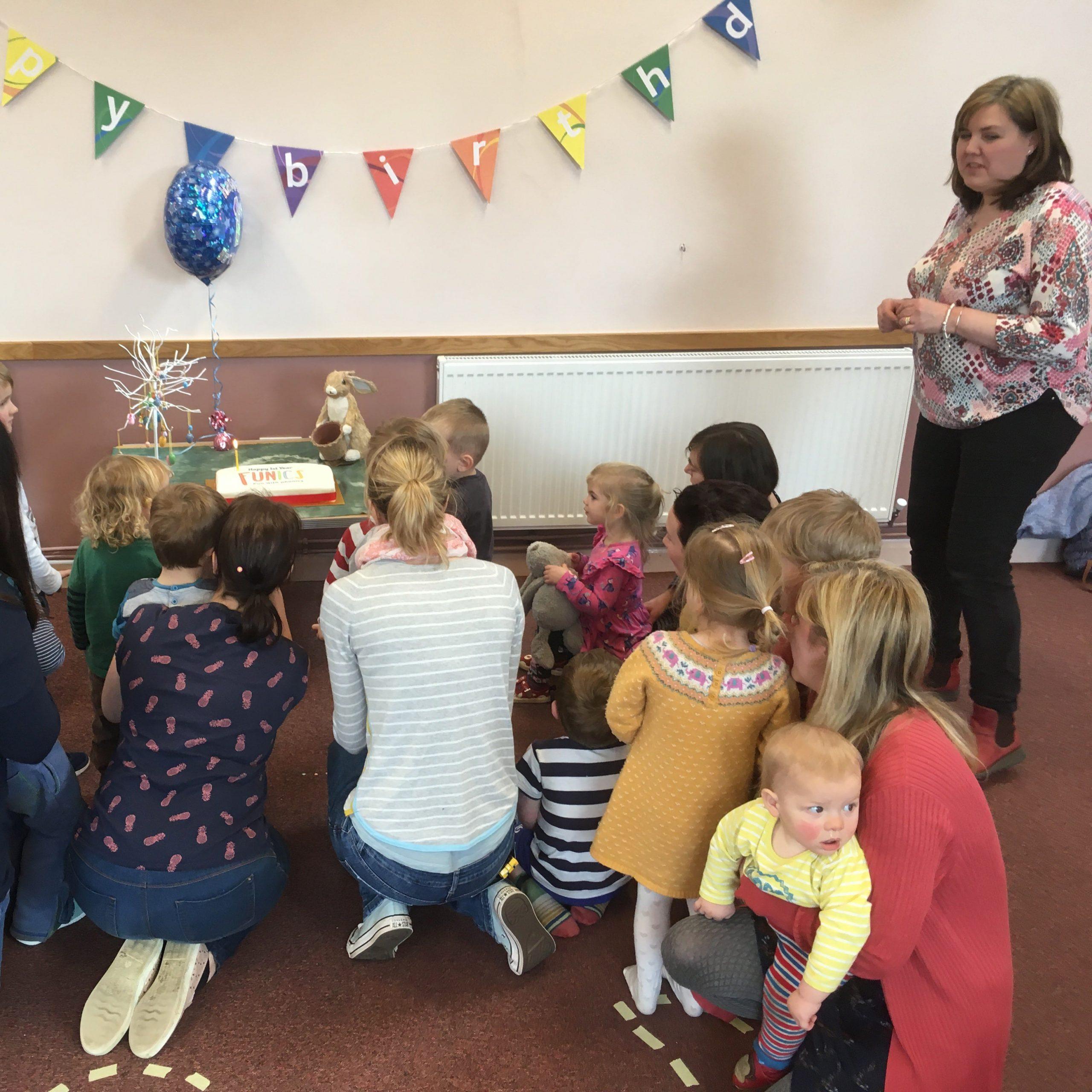 Funics Fun with Phonics First Birthday Workshops